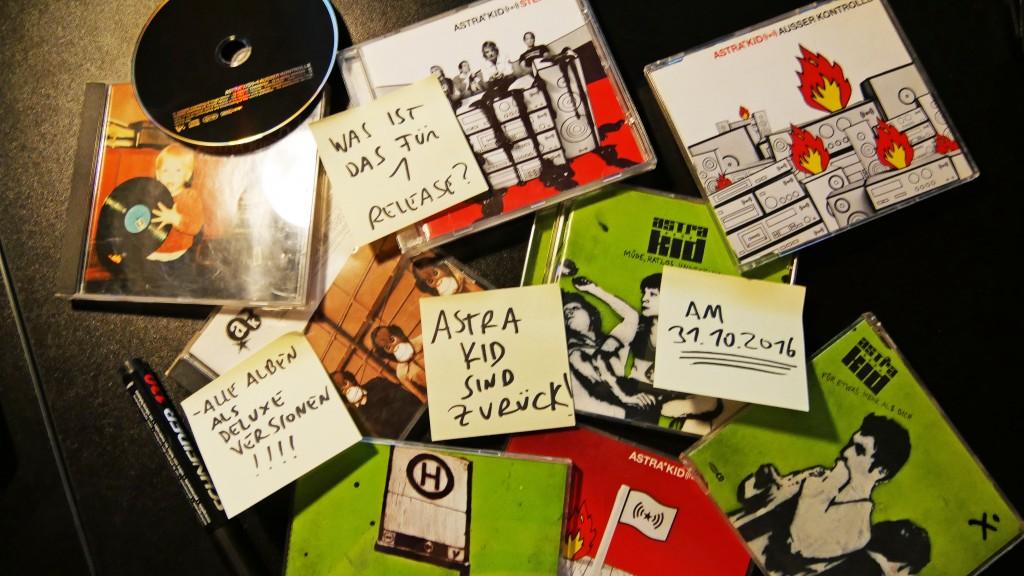 Am 31.10. veröffentlichen wir ALLE Alben von Astra Kid digital!